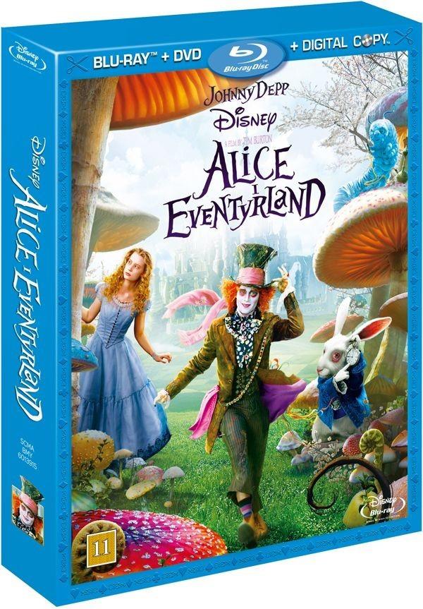 Køb Alice I Eventyrland [3-disc inkl. DVD-udgave + Digital Copy]